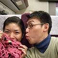 高鐵商務車廂(椅子是紫色)