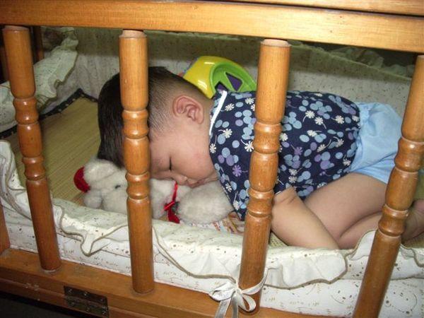 結果...不小心睡著了(還壓著小狗)...呵呵