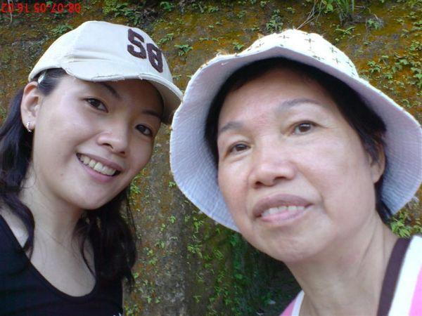 再來一張我和媽媽自拍