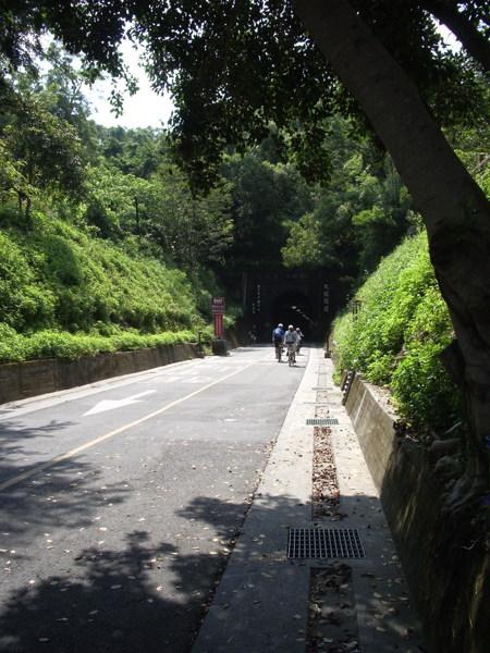 這是后豐鐵馬道的隧道口