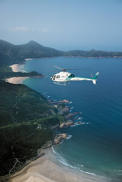 Peninsula Moments - Helicopter at Tai Long Wan (mid).JPG