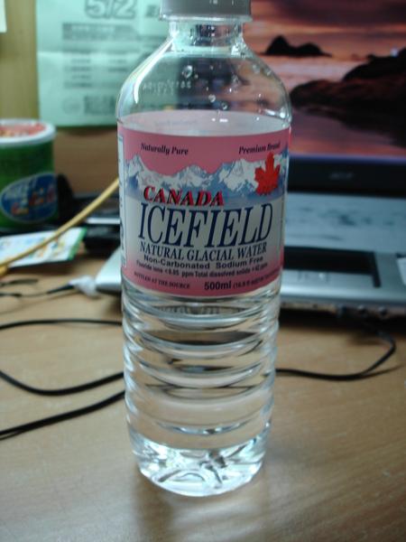 加拿大愛斯菲天然冰河水