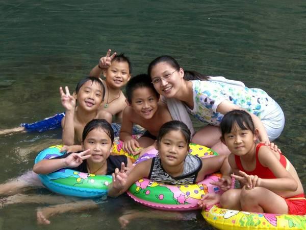 內灣玩水200706