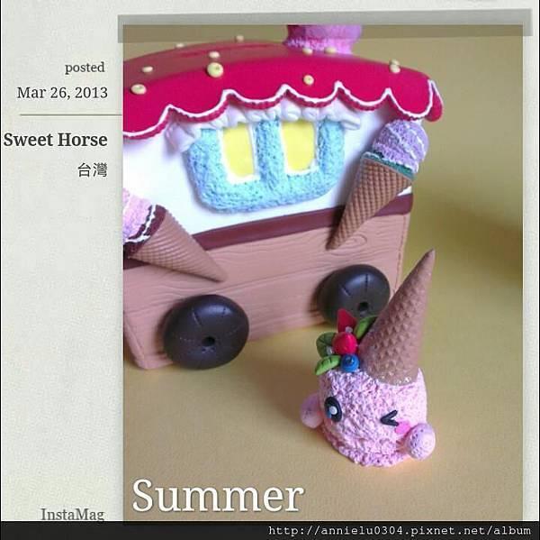 冰淇淋娃兒一號~草莓娃兒