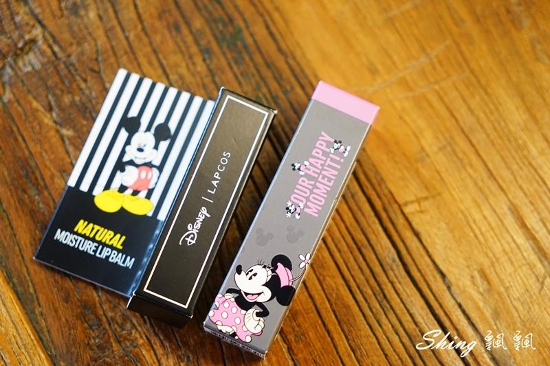 韓國 LAPCOS x Disney 迪士尼聯名維他命E保濕潤唇膏+超顯色LED奶油唇膏 02.JPG