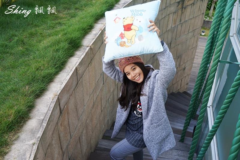 向日葵睡眠屋小熊維尼抱枕 11.JPG
