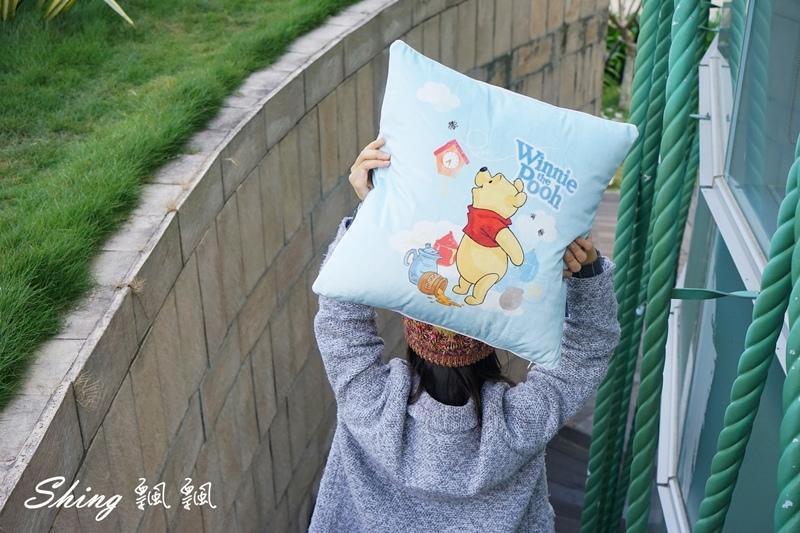 向日葵睡眠屋小熊維尼抱枕 10.JPG