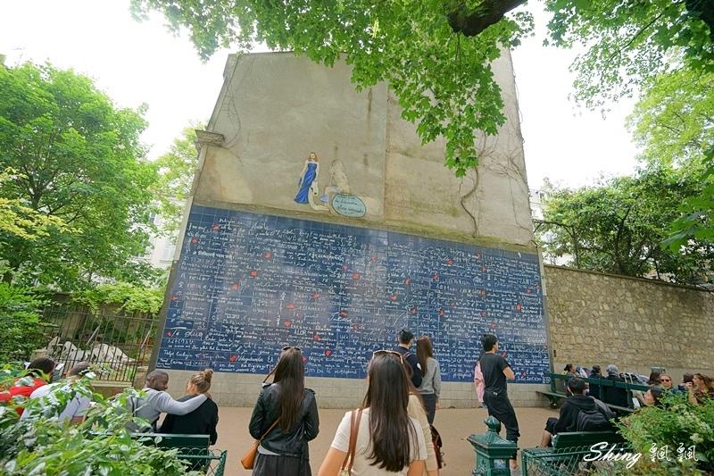 法國巴黎旅遊景點-蒙馬特愛牆Le mur des je t%5Caime 05.JPG