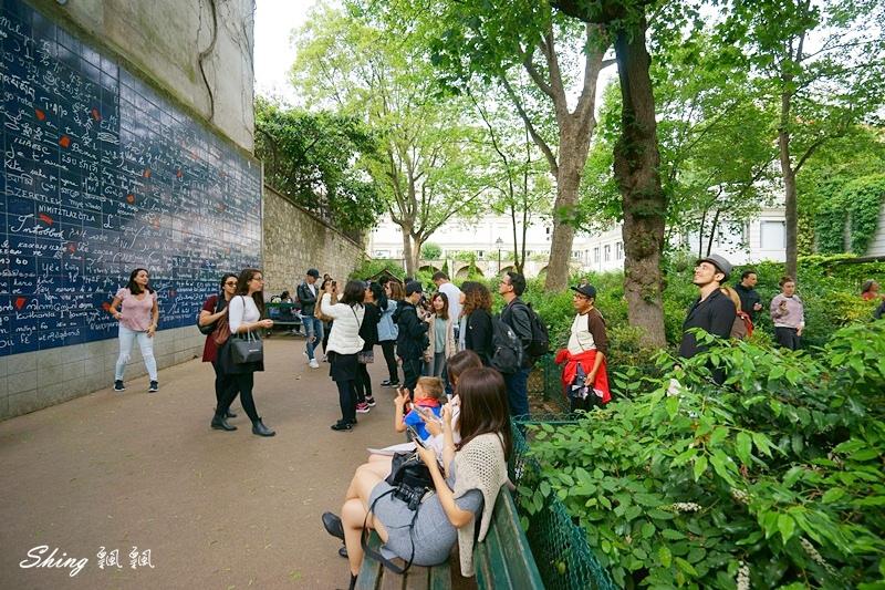 法國巴黎旅遊景點-蒙馬特愛牆Le mur des je t%5Caime 13.JPG