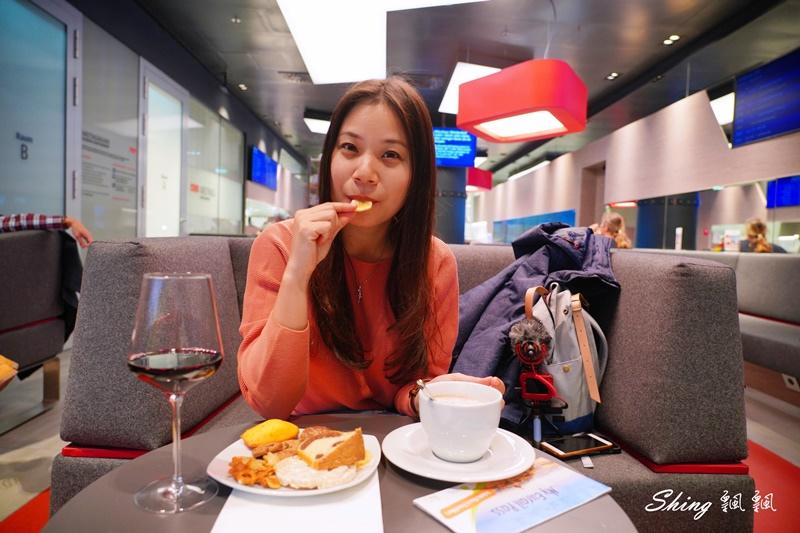 薩爾茲堡ÖBB Lounge歐洲火車站貴賓室-歐洲火車通行證頭等艙免費 16.JPG