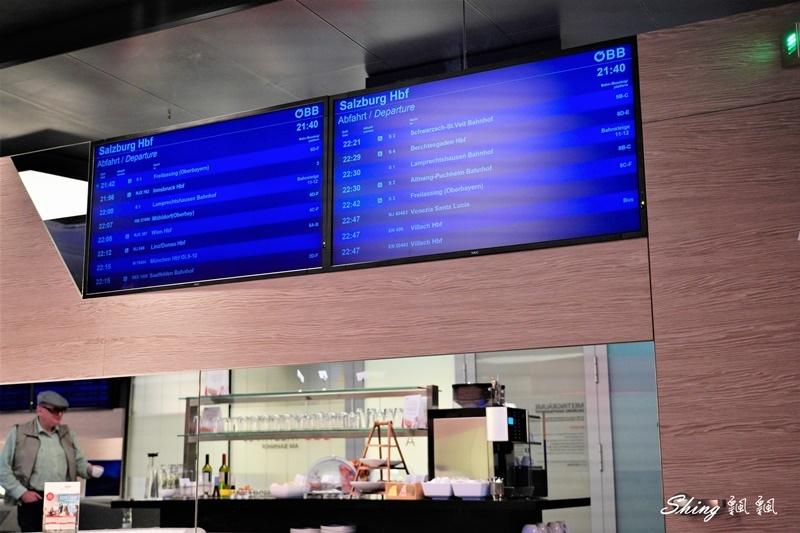 薩爾茲堡ÖBB Lounge歐洲火車站貴賓室-歐洲火車通行證頭等艙免費 19.JPG