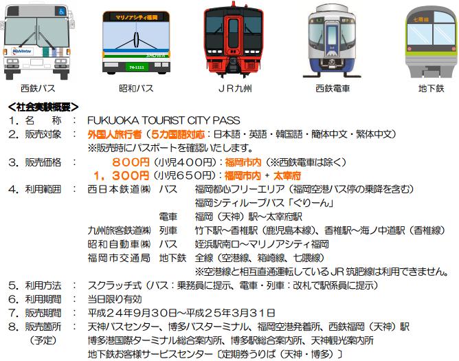 福岡旅客PASS