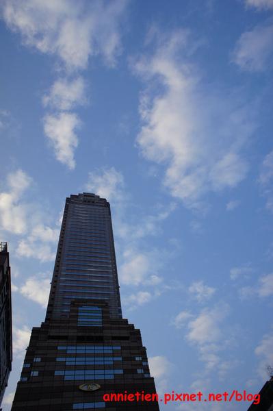 清晨台北的天空