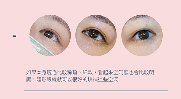 6 如果本身睫毛比較稀疏、細軟,看起來空洞感也會比較明顯!隱形眼線就可以很好的填補這些空洞.png