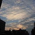 10.25下班後的天空