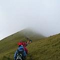 往南華山的路上~好想念山上啊!