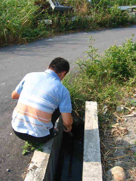 在清水溝的老爸