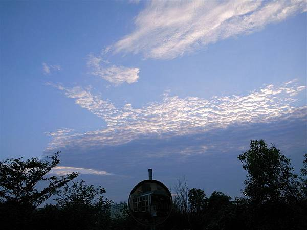 960518回到家時拍的雲