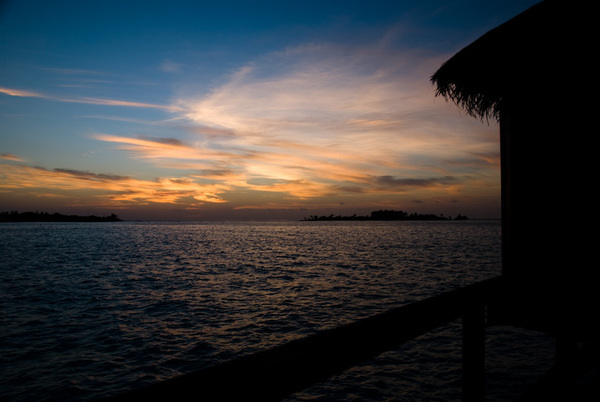 Sunrise in Anantara Maldives