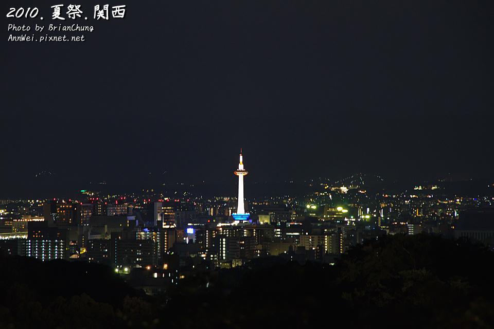 遠眺京都塔