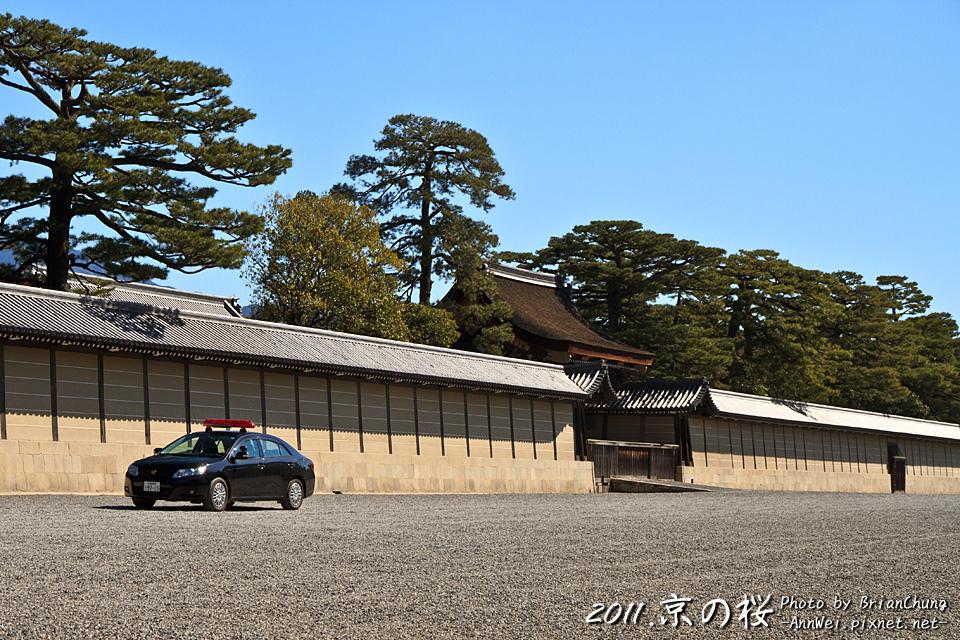京都御所的正門