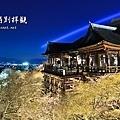 清水寺 夜櫻 全景圖
