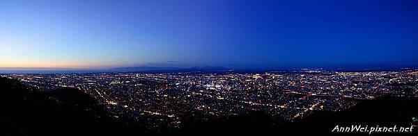 Sapporo Night Scene Panorama