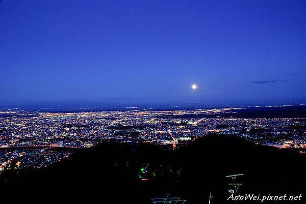 Sapporo Night Scene