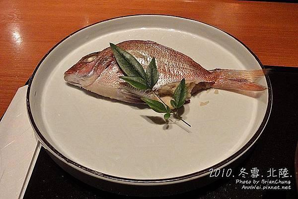 加賀のお祝い料理-鯛の唐蒸