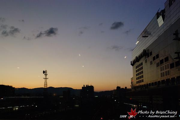京都駅-暮色