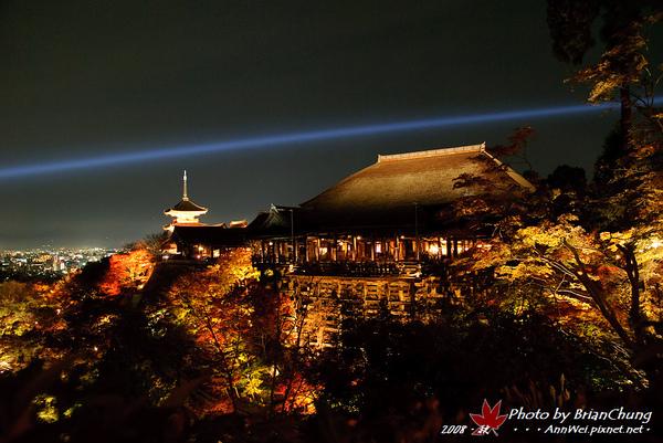 夜の清水舞台