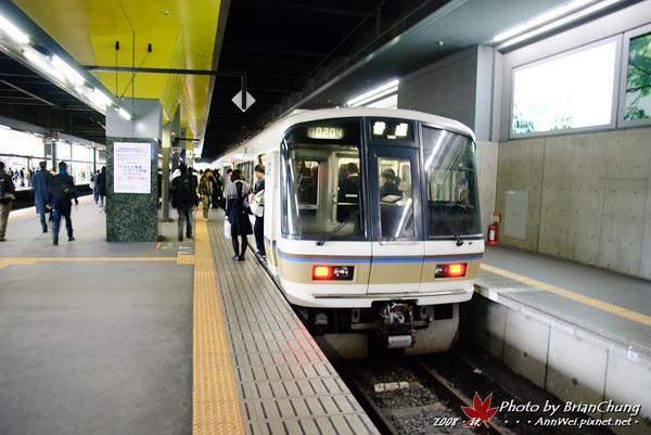 京都駅→嵐山(JR)