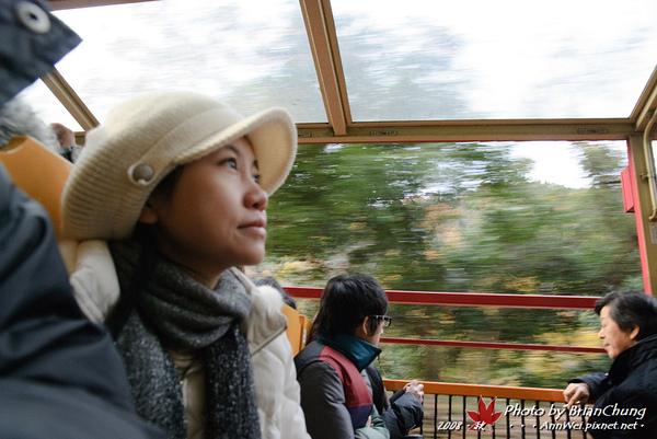 嵐山トロッコ小火車