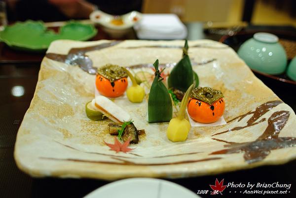 京風会席料理 前菜