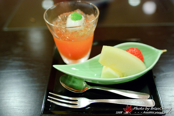 京風会席料理 水菓子