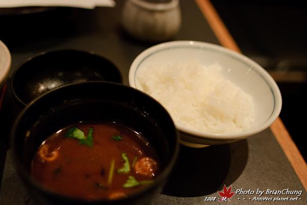 味增湯+飯