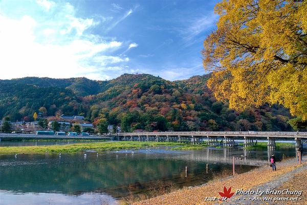 嵐山-渡月橋HDR