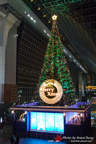 京都駅-聖誕樹