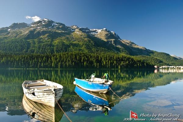 Lej da San Murezzan,St. Moritz