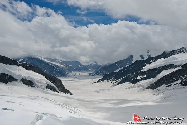 Aletsch Glacier, Jungfraunjoch