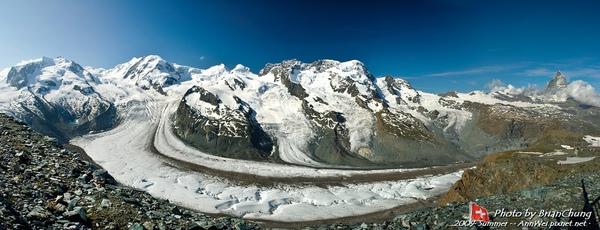 Panorama from Gornergrat