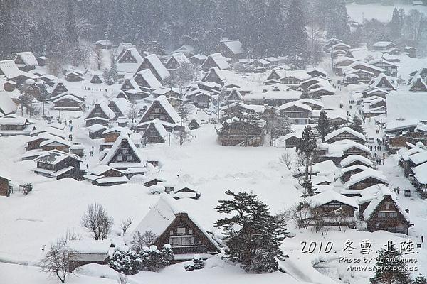 雪景色from展望台
