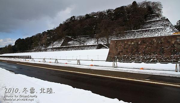 金沢城外牆