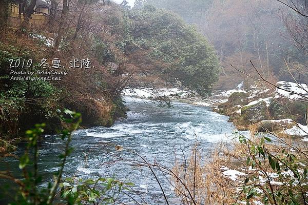 鶴仙溪水暴漲