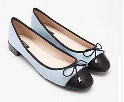 Contrast-Toe Ballet Flats.png