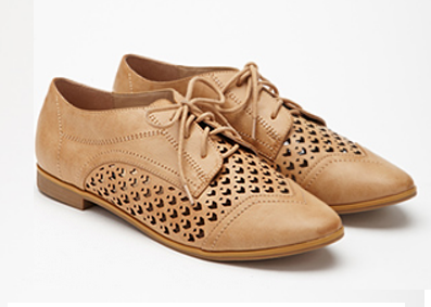 Faux Leather Chevron-Cutout Oxford.png