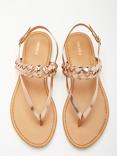 Metallic Faux Leather Slingback Sandals.png