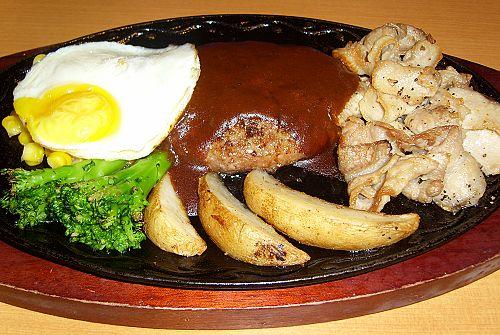Saizeriya和風燒烤豬肉&薩莉亞漢堡排.jpg