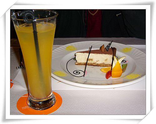 提拉米蘇蛋糕&柳橙汁-百世多麗酒店.jpg