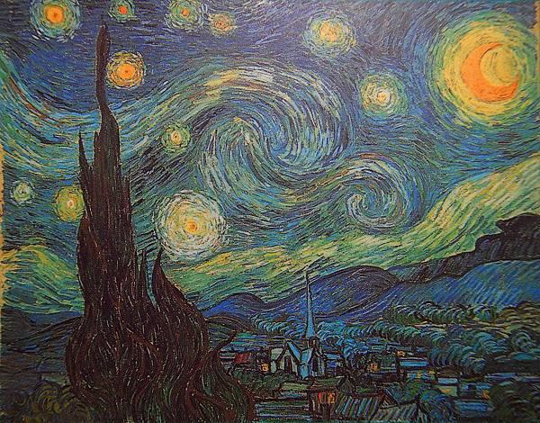 星月夜(1889 法國聖瑞米)
